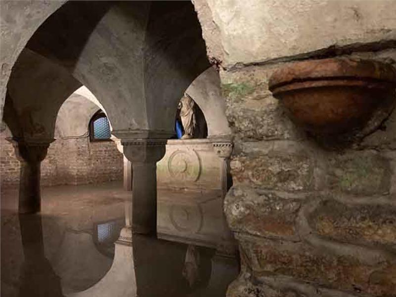 Tour Cripta di San Zaccaria