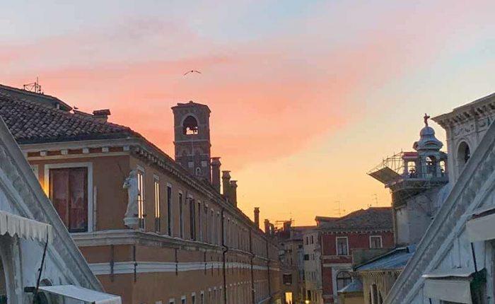 Tour Mercato di Rialto al tramonto